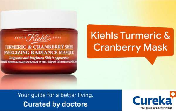 Kiehl's turmeric cranberry mask is best for acne