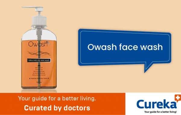 Owash face wash made for oily skin