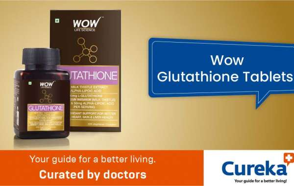 Wow glutathione tablets with milk thistles