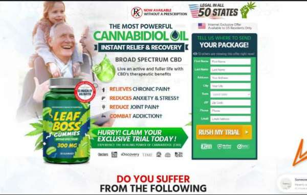 Leaf Boss Gummies-reviews-price-buy-benefits- Reduces Anxiety & Stress