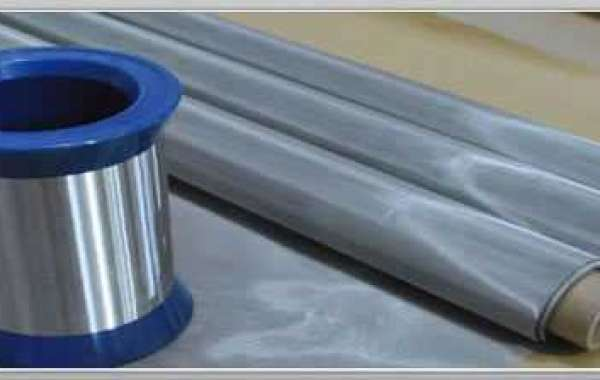Details of stainless steel healds