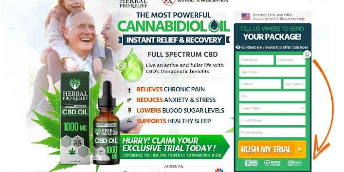 Herbal Pro Relief CBD (Trial)– Relieves Stress, Pain & Discomfort Easily!