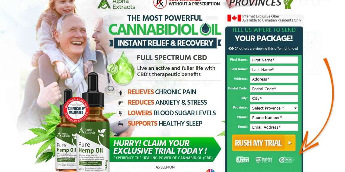 Alpha Extracts CBD : #1 CBD Oil Reviews, Side Effects, Natural Safe, Trial Price & Works?